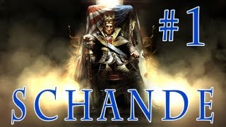 Let´s Play Assassin´s Creed 3 - Die Tyrannei von König Washington DLC - Die Schande Part 1