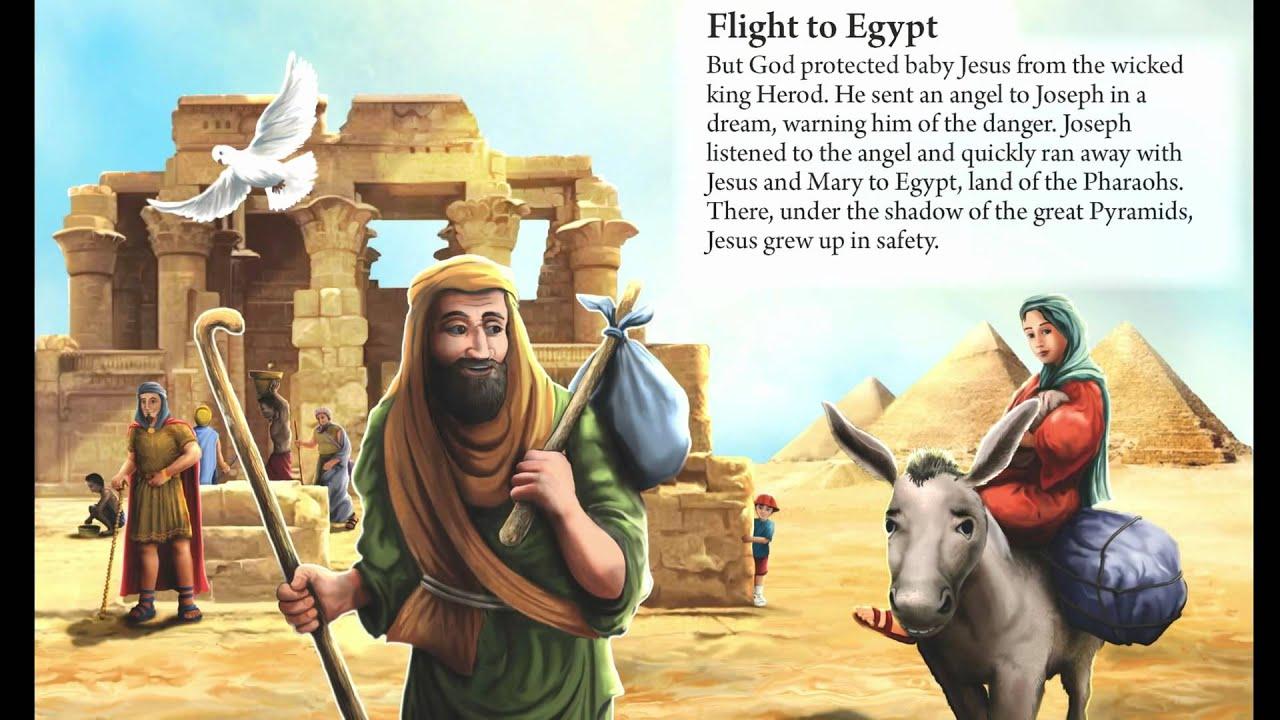 9 flight to egypt new children book youtube