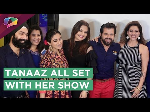 Tanaaz Irani Comes Back With A New Show Tango With Tanaaz | Launch | Divyanka, Kamya & More
