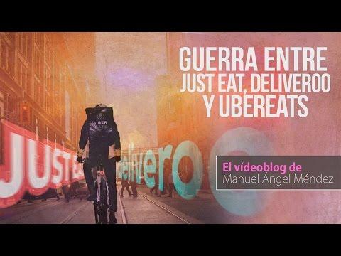 Guerra Entre Just Eat, UberEats Y Deliveroo. ¿Cuál Es Mejor?