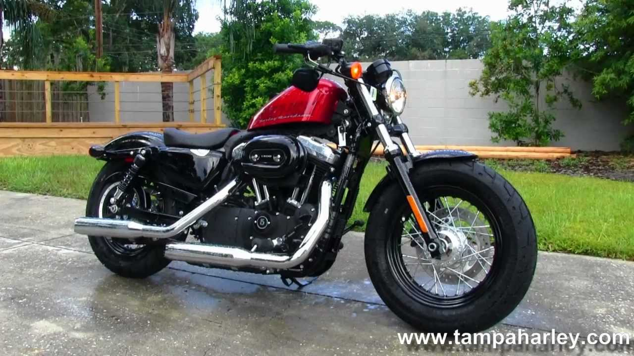 New 2013 Harley-Davidson Sportster Forty-Eight XL1200X - YouTube