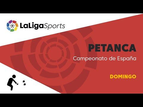 📺 Campeonato de España de Petanca - Domingo