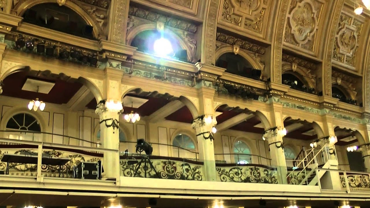 winter gardens theatre buildings blackpool tour youtube