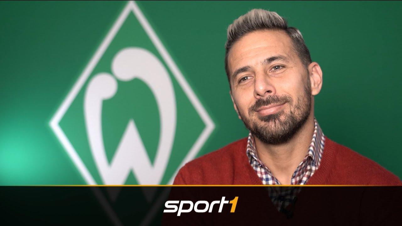 Vor DFB-Pokal-Duell: Claudio Pizarro schwärmt von Erling Haaland | SPORT1