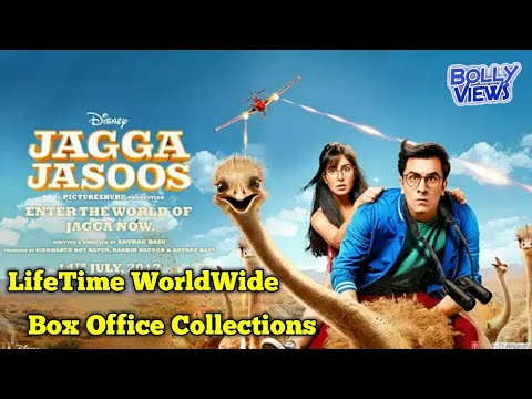 JAGGA JASOOS Bollywood Movie LifeTime WorldWide Box Office Collections | Verdict Hit Or Flop