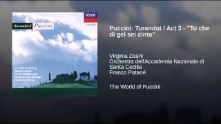 "Puccini: Turandot / Act 3 - ""Tu che di gel sei cinta"""