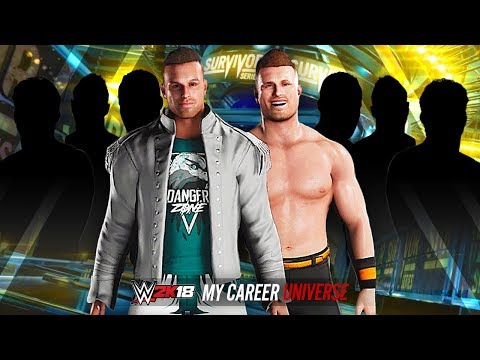 WWE 2K18 My Career Universe - SURVIVOR SERIES!! DANGER vs DANGER!!