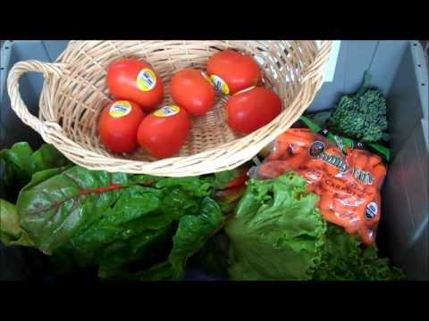 Seattle's local organic produce box - June 14th