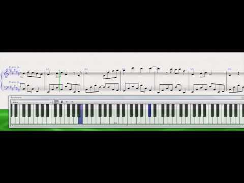 Whatcha Say - Jason Derulo  (Sibelius 6 with onscreen keyboard) [Download .sib file, .wav file]
