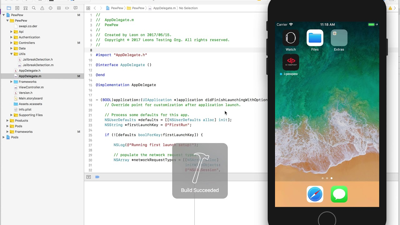 03 - iOS Jailbreak Detection Bypass using Frida