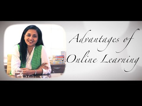 Advantages of online learning: Education without leaving home