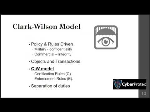 Domain 3 Security Models