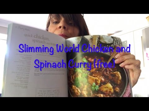 Slimming World Recipe - Tried And Tested | Quick Chicken And Spinach Curry