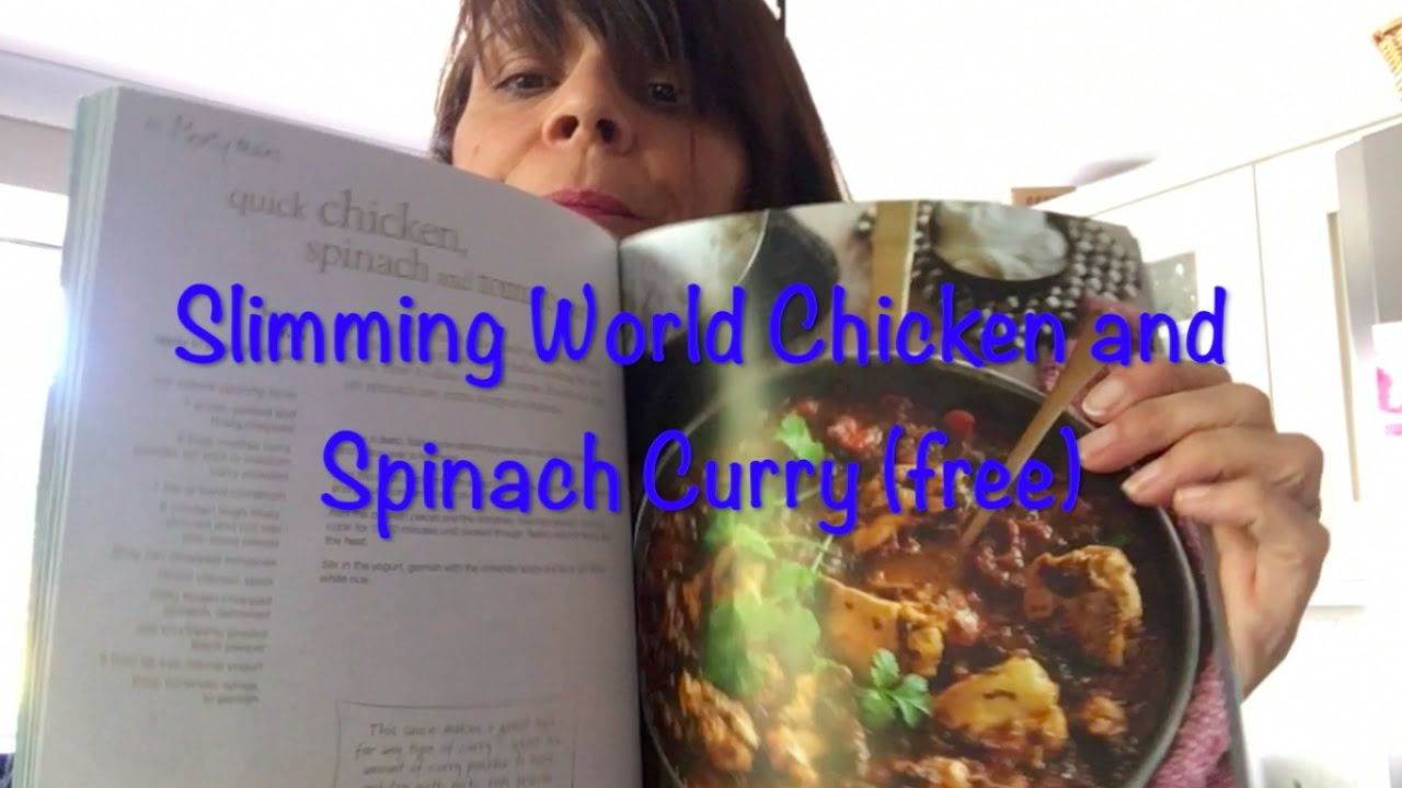 Slimming World Recipe Tried And Tested Quick Chicken And Spinach Curry