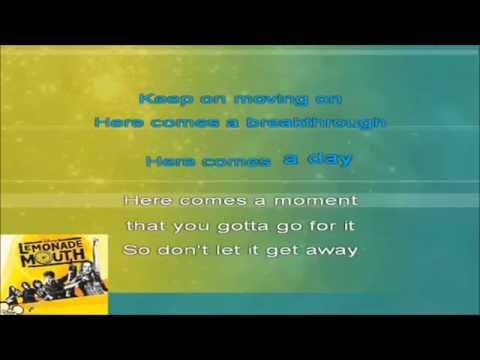 Lemonade Mouth - Breakthrough (Karaoke HD)