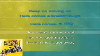 Lemonade Mouth - Breakthrough (Karaoke HD)