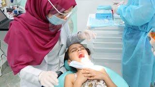 سوار خافت عند دكتور الاسنان