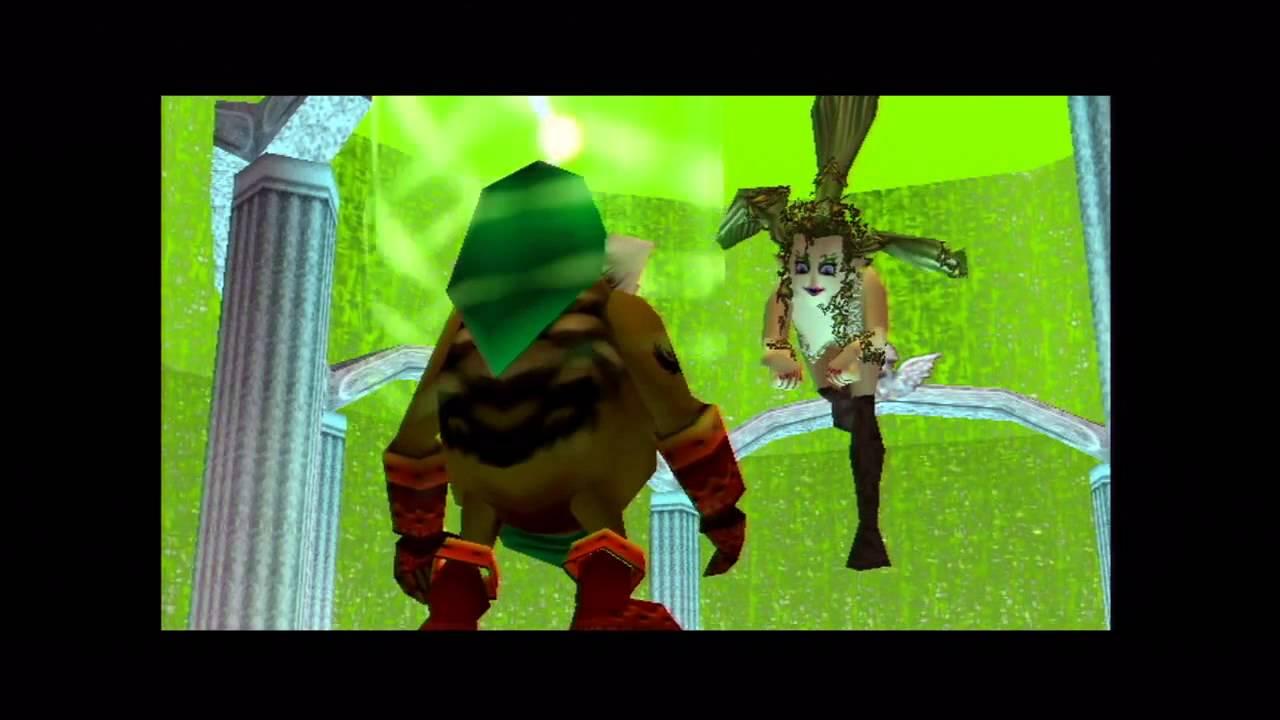 Snowheads Great Fairy Location The Legend Of Zelda Majoras Mask