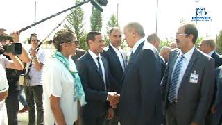 الرئيس بوتفليقة يوجه تشجيعاته للبعثة الجزائرية قبل مغادرتها إلى ريو دي جانيرو