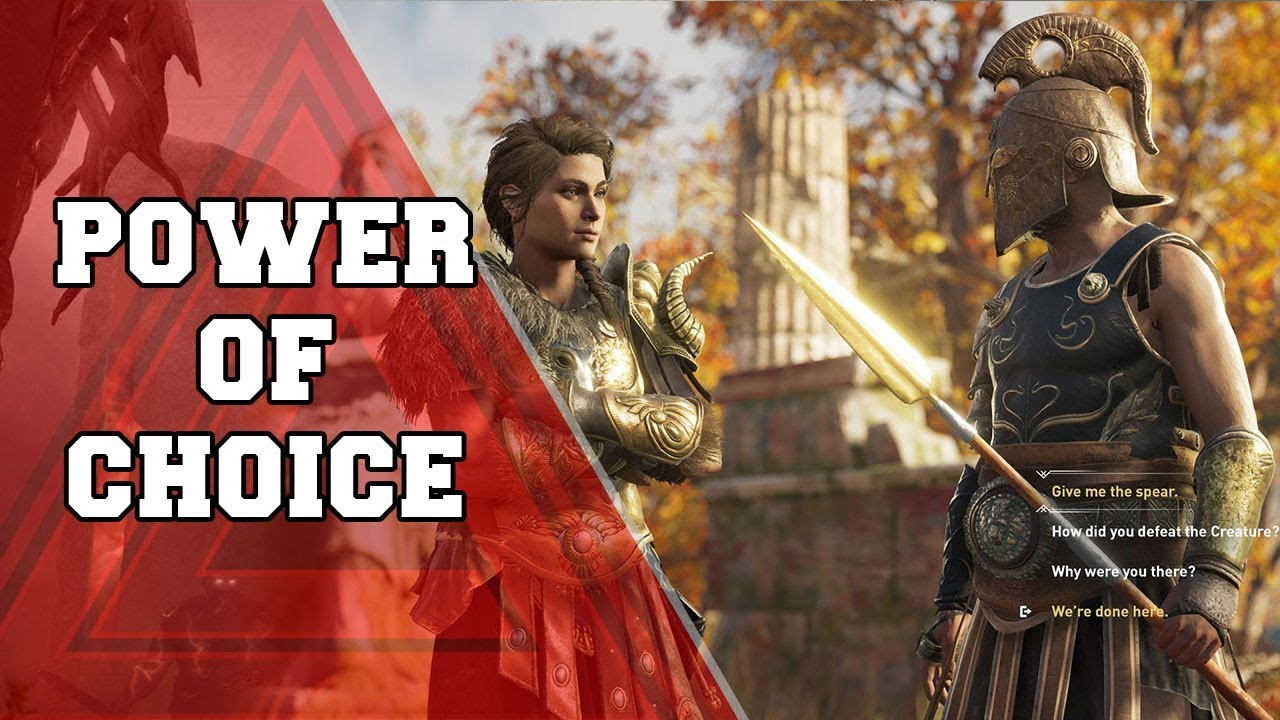 Assassin's Creed Odyssey: The Power of Choice Trailer ile ilgili görsel sonucu