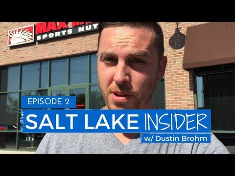 Salt Lake Insider: Episode 02 | Weird Customers, Happy Drinks, & Snapchat w/ Max Muscle