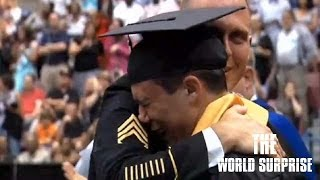 This Army Dad Flew 7,000 Miles to Surprise His Son