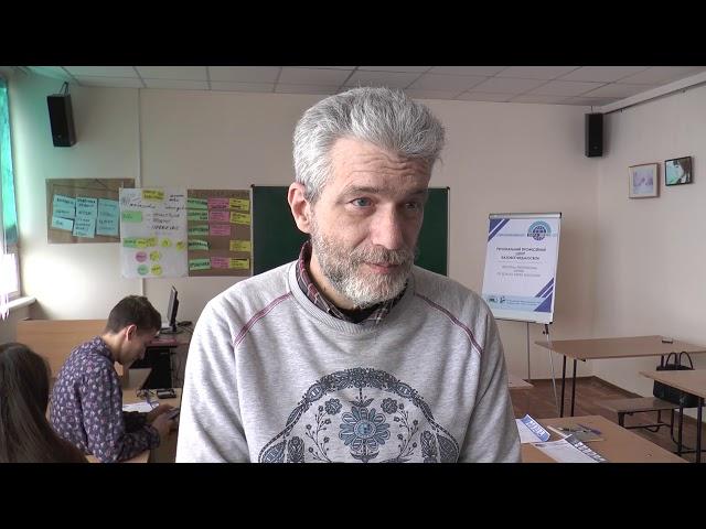 Тренінг Андрія Куликова для студентів - журналістів