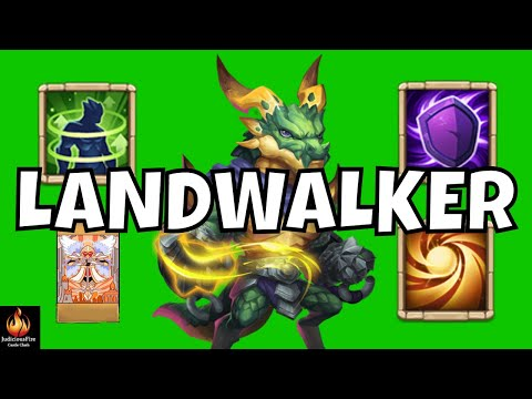 Landwalker Castle Clash New Hero MAX Tank Mode