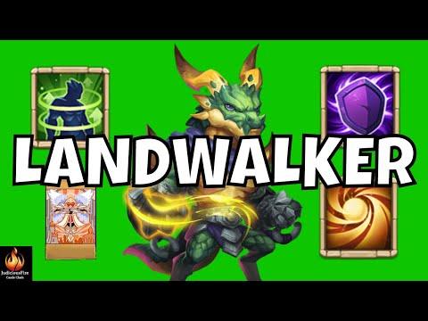 Landwalker Castle Clash New Hero MAX Tank Mode