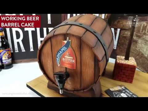 Working Beer Barrel Cake
