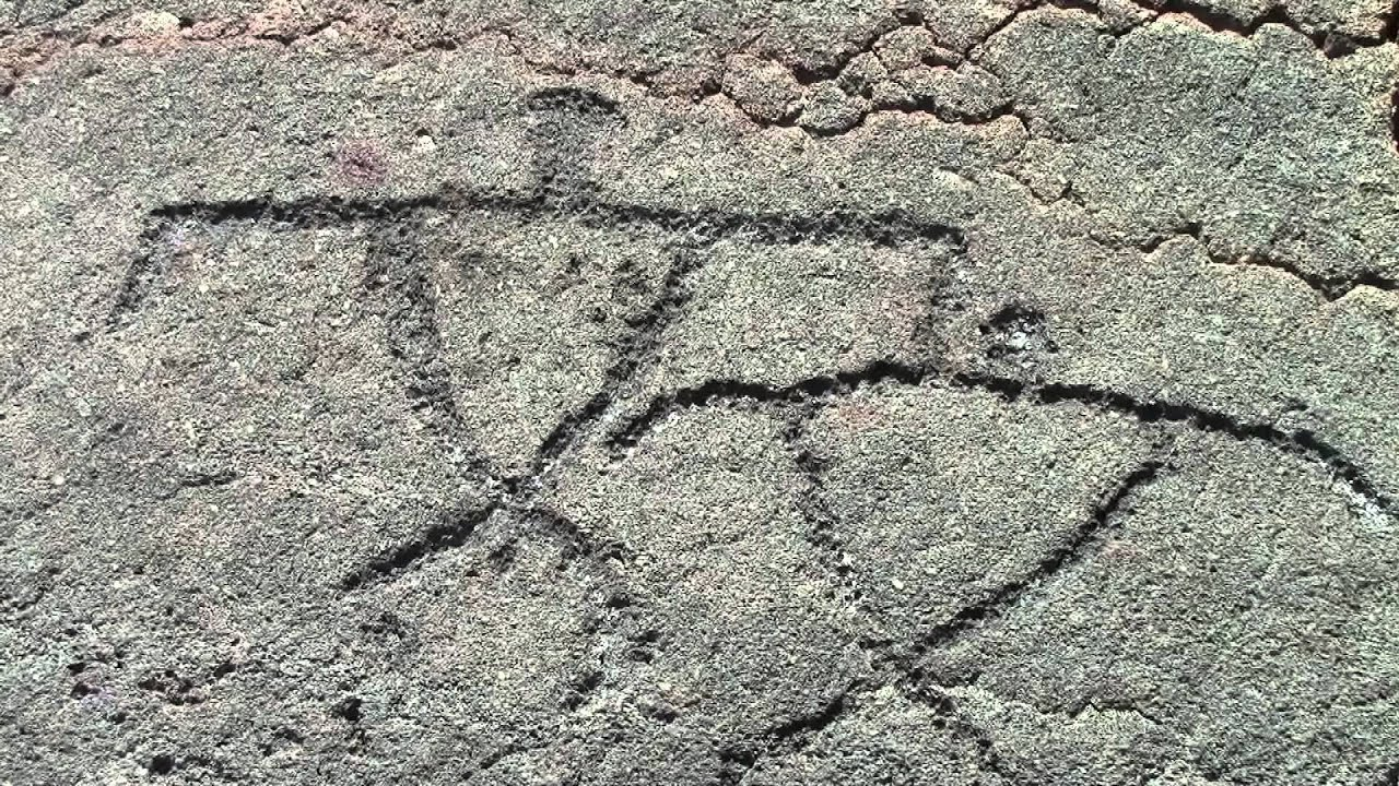 Big Island Petroglyphs