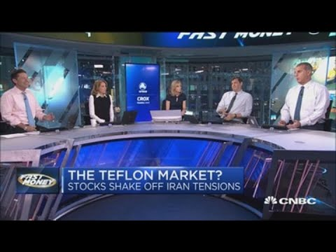 Dow Jones industrial average trades flat after Iran retaliates with ...