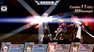 Tales of Vs 『テイルズ オブ バーサス』 : Gameplay Yuri