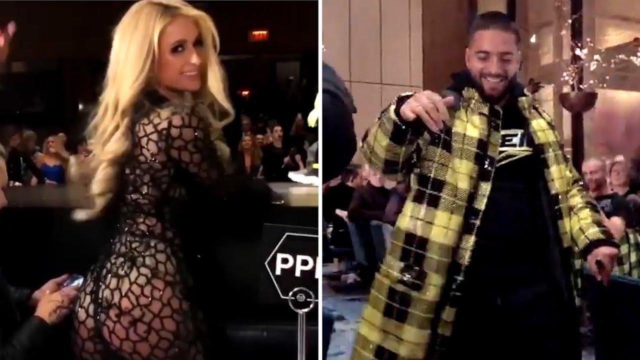 01eab9c07935 Maluma y Paris Hilton, de fiesta juntos en Nueva York