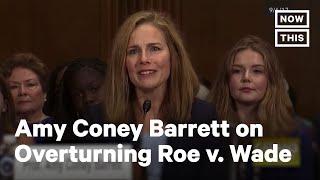 Sen. Feinstein Presses Amy Coney Barrett on Overturning Roe v. Wade | NowThis