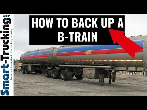 The Secret to Backing Up a B-Train (It's Easier Than a 53' Trailer!)