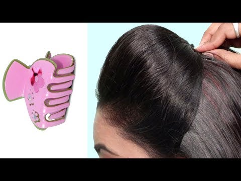 3 easy Puff Hairstyles With Clutcher/Hair Puff, ponytail & bun thumbnail