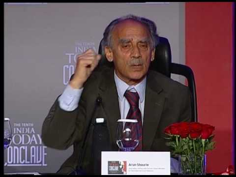 India Today Conclave: Q&A With Arun Shourie
