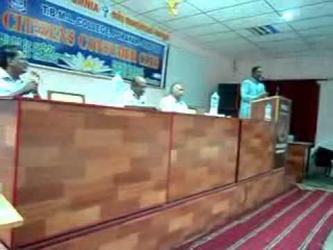 Food Adulteration Talk by Mr. Anandou John, Food safety Officer, Karaikalclip0.3gp