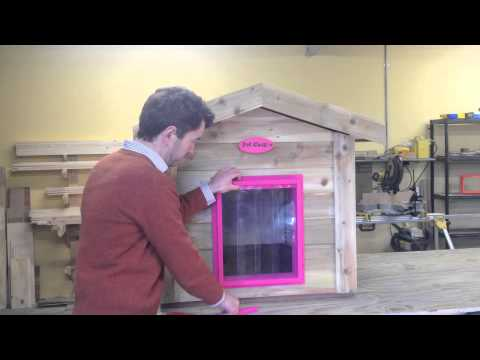 Pet Cosy Dog Kennel - Replacing The Dog Kennel's PVC Strip