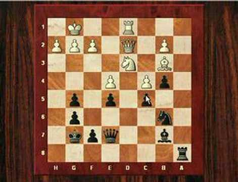 Barry Attack Chess Opening: Khandaker vs T.Gavriel - Herts Chess League Match 2007 - Barry Attack