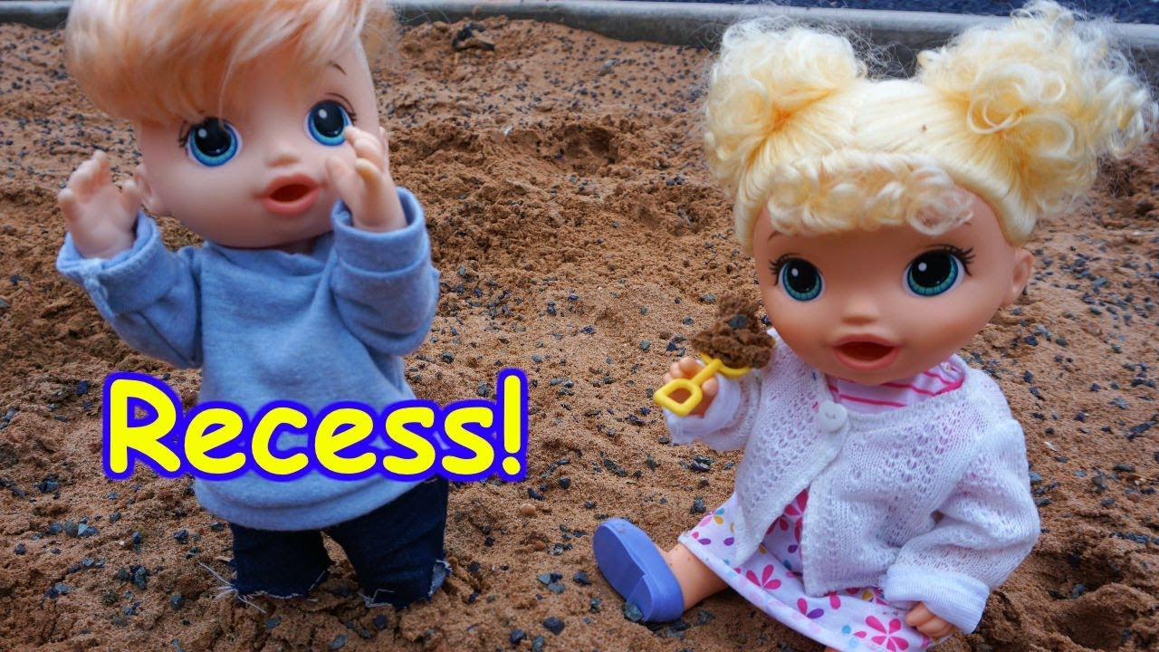 Baby Alive Goes To School And Recess Youtube