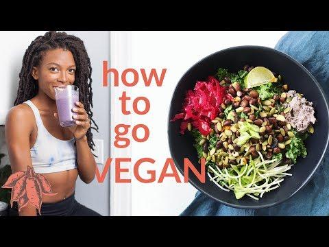 Beginner's Guide to Going VEGAN 🍠🌿