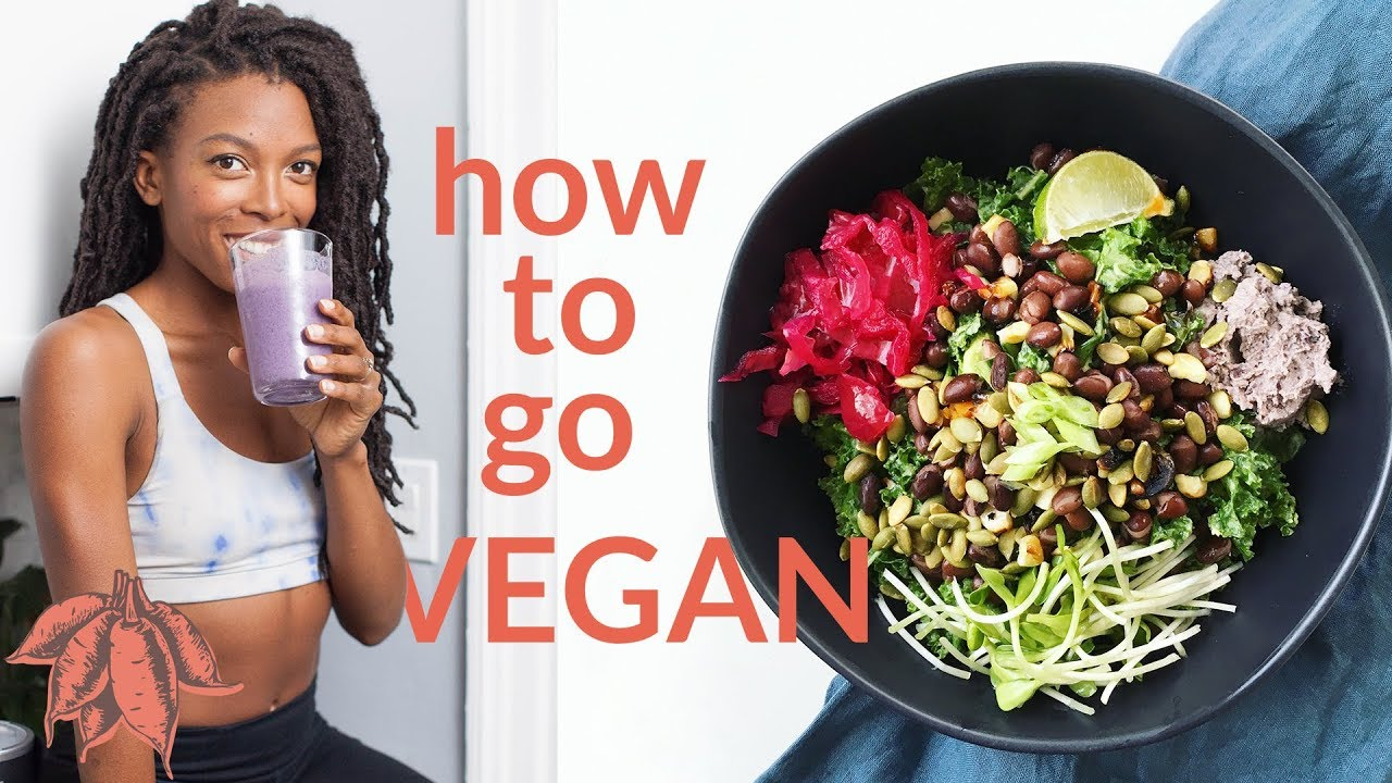 Beginner's Guide to Going VEGAN ??