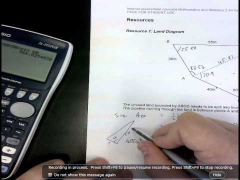 Land subdivision 2 4 trig problem to excellence
