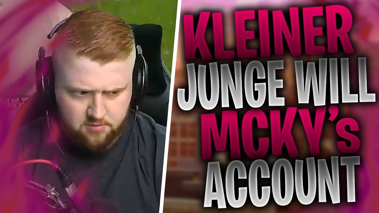 kleiner Junge will MCKY's Account | KAMOLRF killt ein Trio mit Fallen | Fortnite Highlights Deu