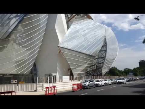 Frank Gehry, Paris. Louis Vuitton Fondation