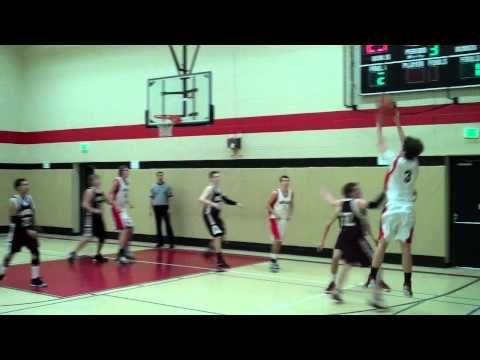 Midland Adventist Academy Mustangs Basketball Highlights Sunnydale Academy 2013