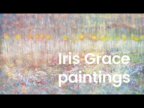 Iris and Thula - An AMAZING autistic girl and her cat buddy - Her paintings like Monet Landscapes