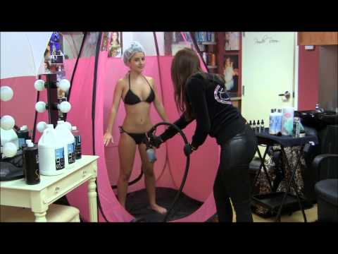 Calma Salon: Custom Spray Tan 101